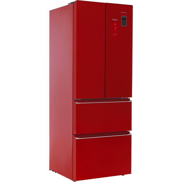 Холодильник Tesler RFD-361I RED GLASS