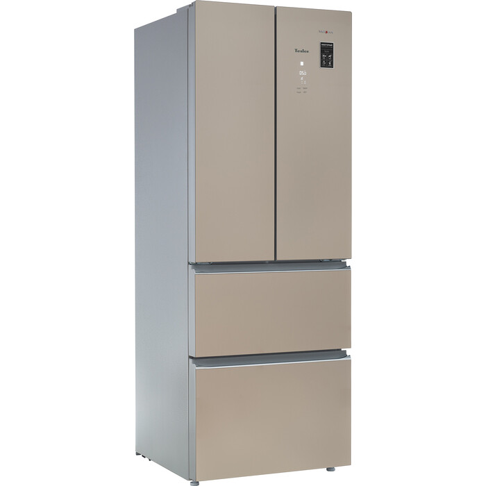 Холодильник Tesler RFD-361I CRYSTAL BEIGE