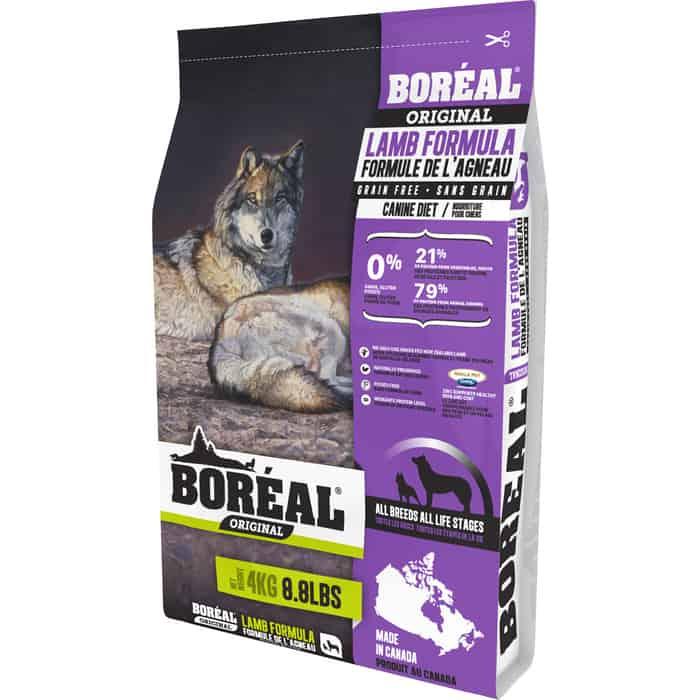 Сухой корм Boreal Original для собак всех пород с ягненком 4кг