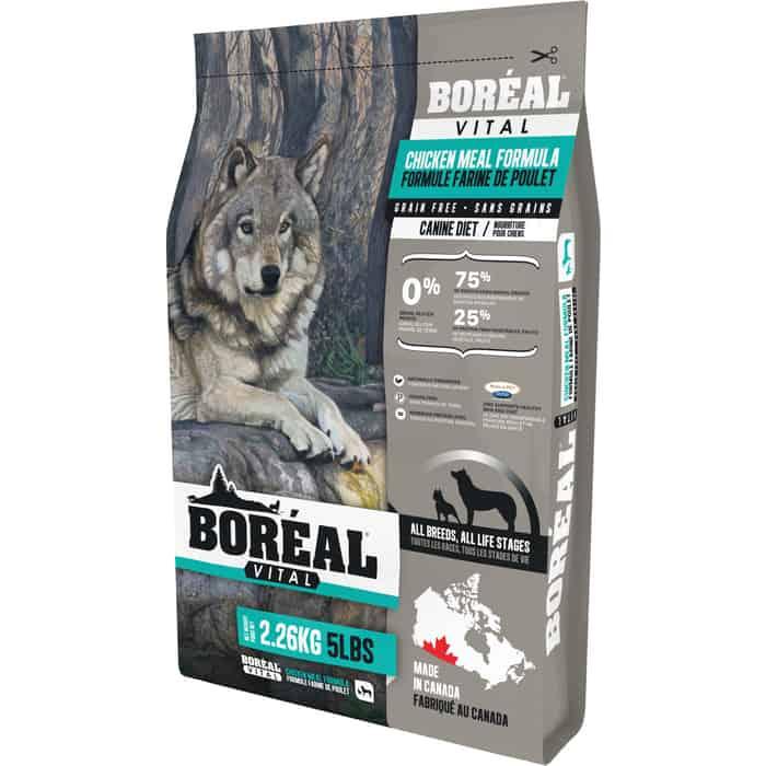 Сухой корм Boreal Vital для собак всех пород с курицей 2,26кг