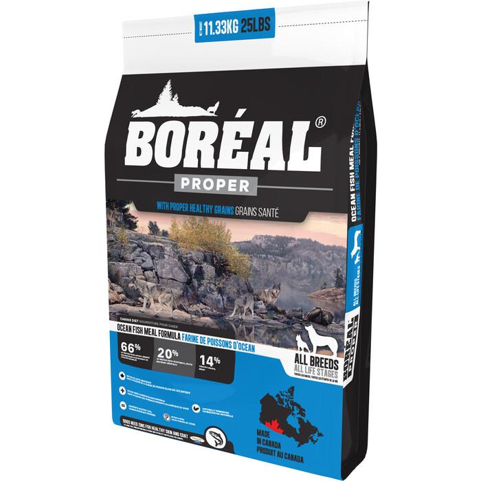 Сухой корм Boreal Proper для собак всех пород с океанической рыбой 11,33кг