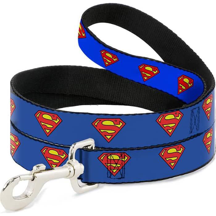 Поводок Buckle-Down Супермен классика 120см