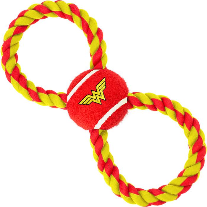 Игрушка Buckle-Down Чудо-женщина мячик на верёвке
