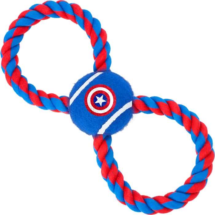 Игрушка Buckle-Down Капитан Америка мячик на верёвке