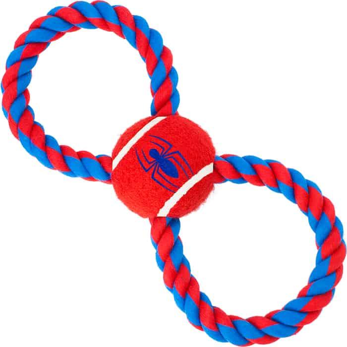 Игрушка Buckle-Down Человек-паук мячик на верёвке