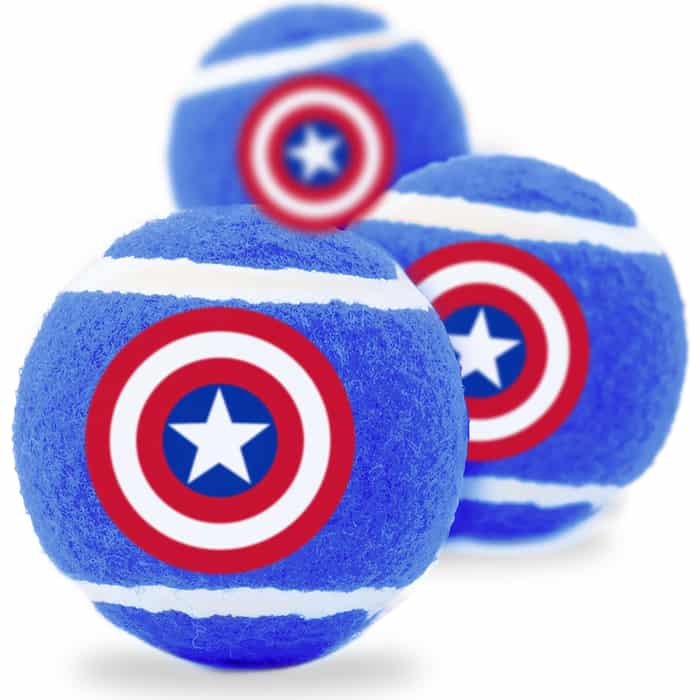 Игрушка Buckle-Down Капитан Америка теннисные мячики
