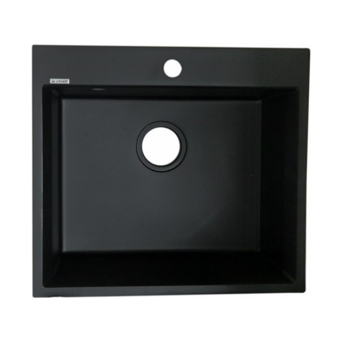 Кухонная мойка Kaiser KMM-5056 Black&Silver черная (KMM-5056 Bl&S/KMM-5056 BS)