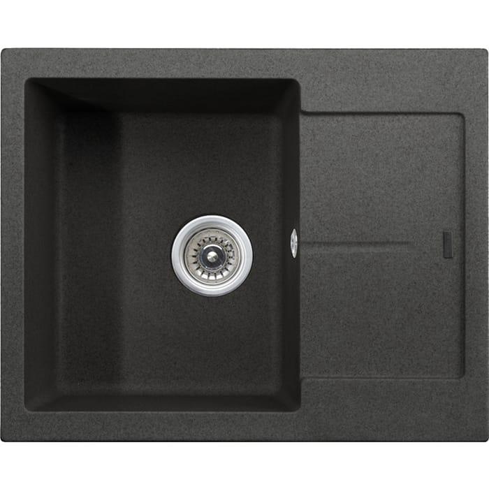 Кухонная мойка Kaiser KGMK-6250 Black Pearl черный мрамор (KGMK-6250-BP)
