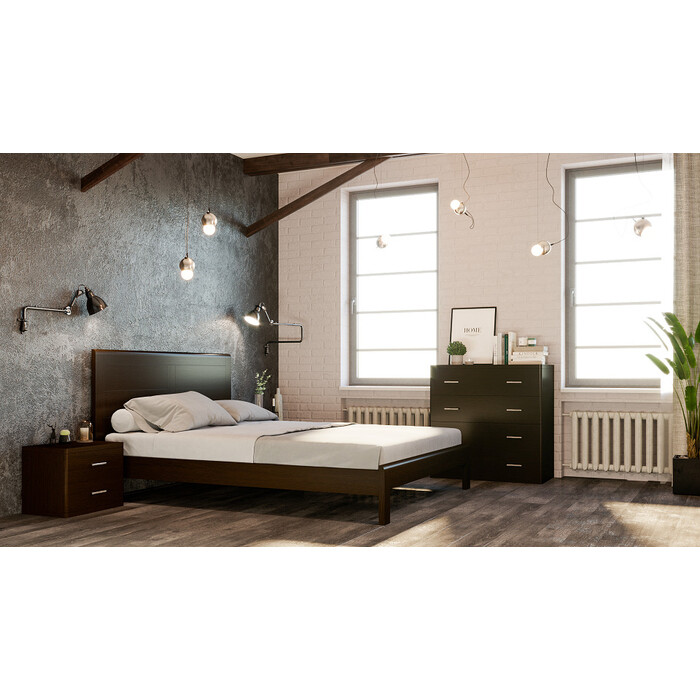 Кровать Miella Fantasy 120х190 венге