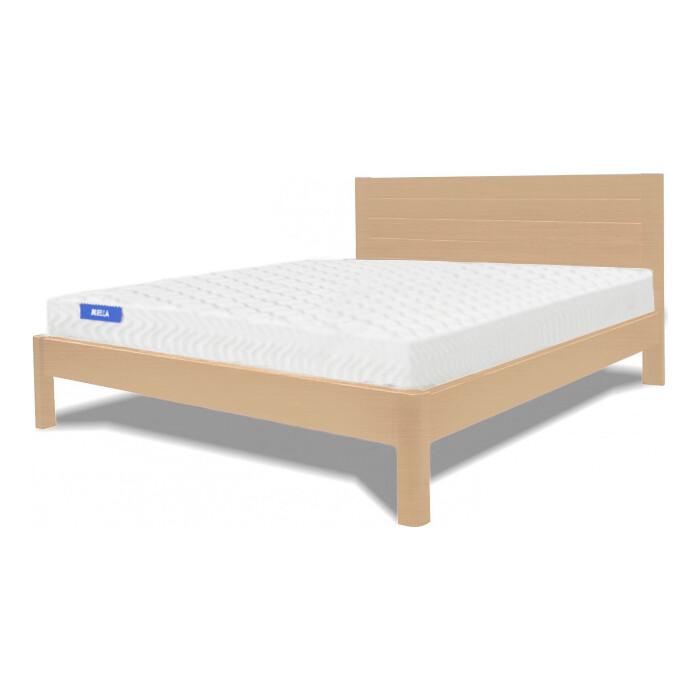Кровать Miella Parallel 120х200 натуральный