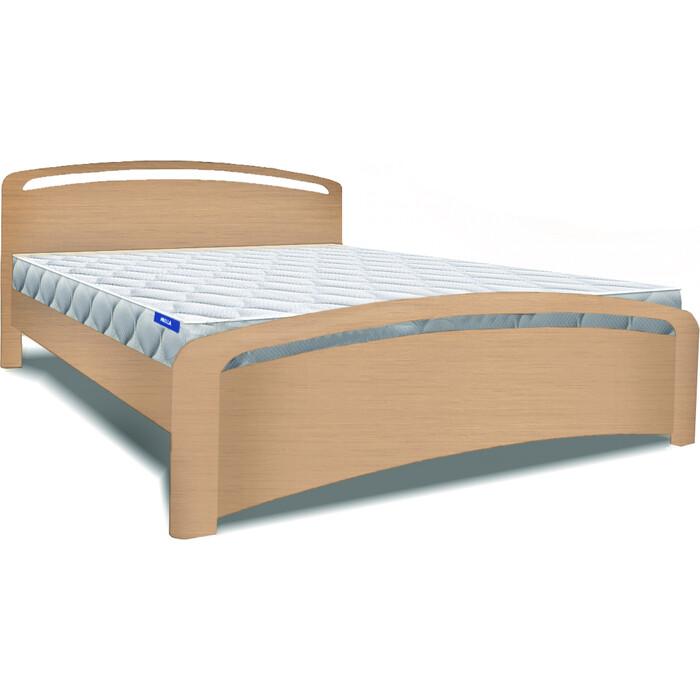 Кровать Miella Sea 140х200 натуральный