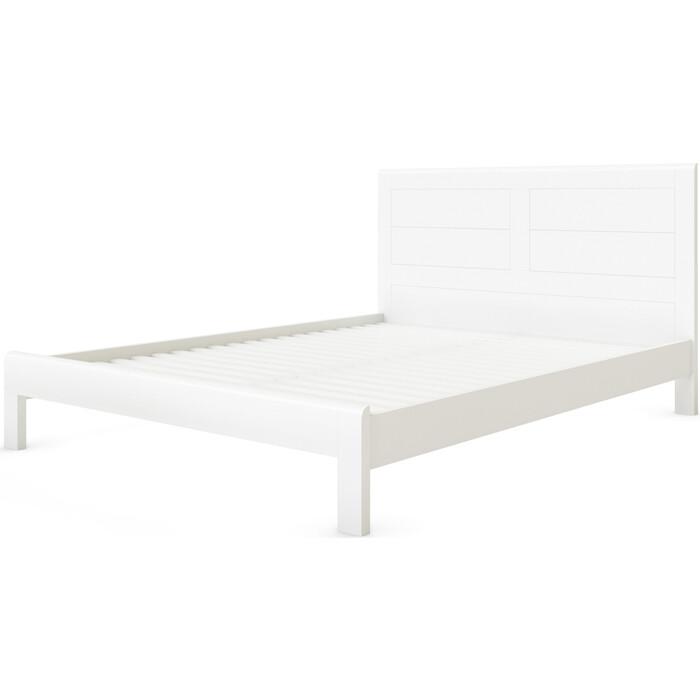 Кровать Miella Fantasy 140х190 белый (эмаль)