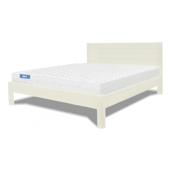 Кровать Miella Parallel 90х200 слоновая кость (эмаль)