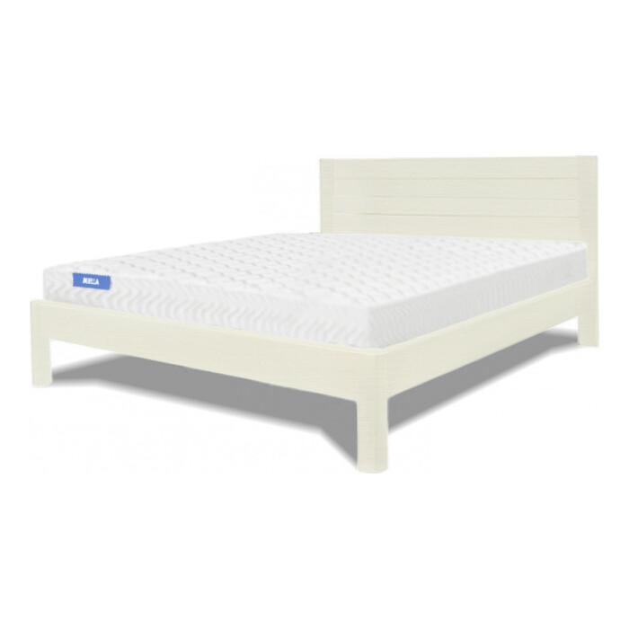 Кровать Miella Parallel 200х200 слоновая кость (эмаль)