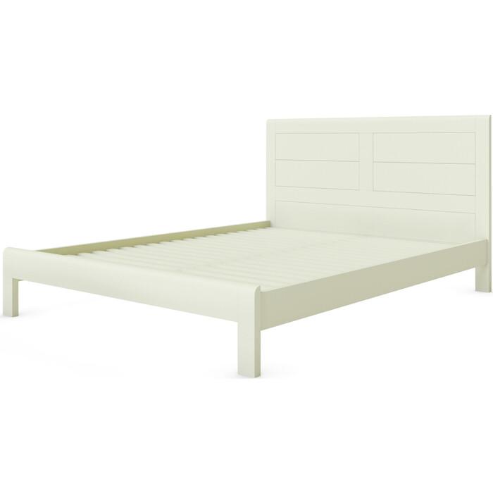Кровать Miella Fantasy 140х200 слоновая кость (эмаль)