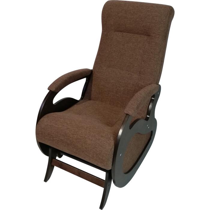 Кресло-качалка ТД Сириус Маятник темный орех Бинго 19