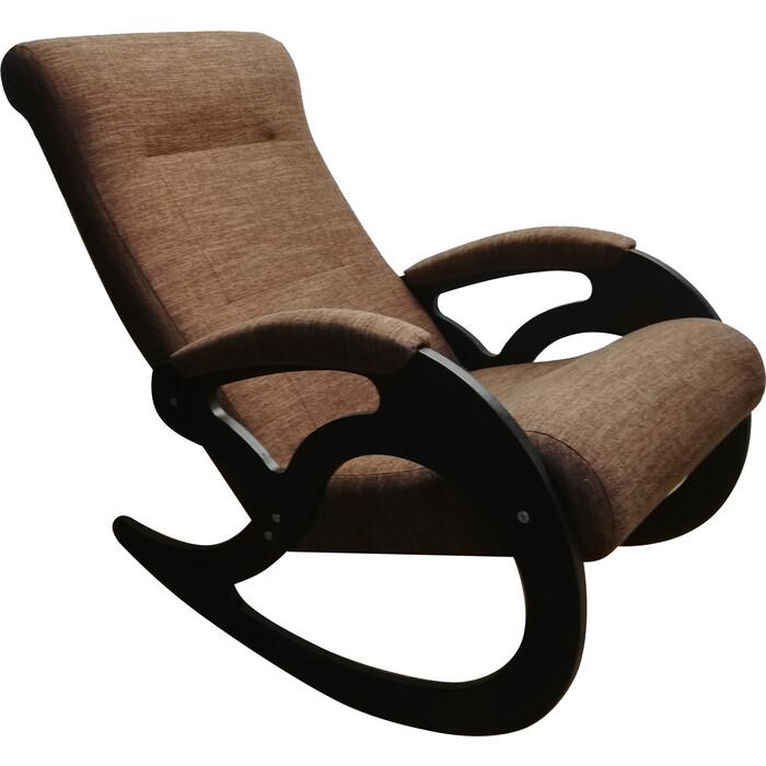Кресло-качалка ТД Сириус Венера темный орех Бинго 19