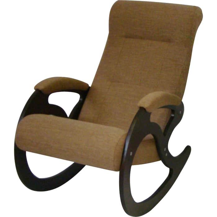 Кресло-качалка ТД Сириус Венера темный орех Бинго 36