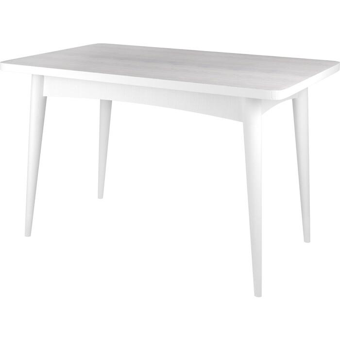 Стол раскладной Ивару Ялта 2 анкор светлый / белый