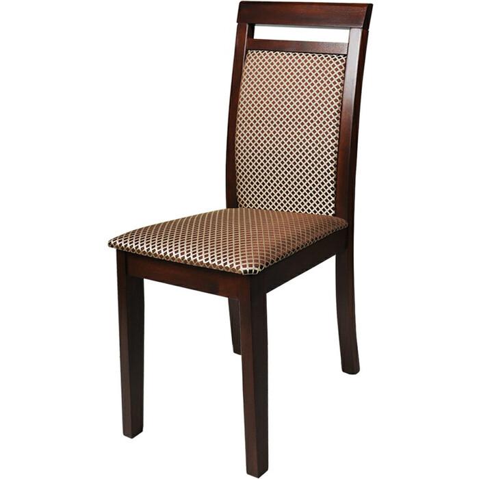 Стул Мебель-24 Гольф-12 орех/обивка ткань руми 812/8 стул союз мебель см 8 каркас черный ткань серая 2 шт