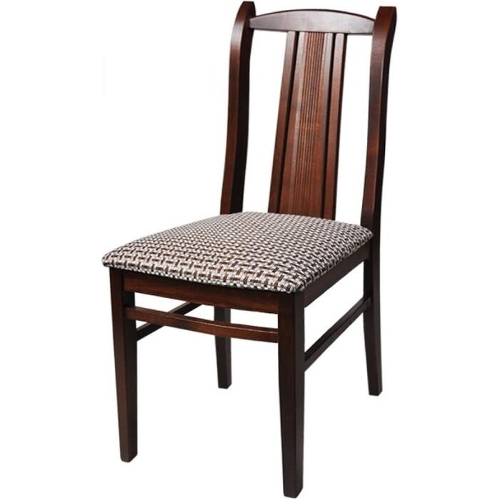 Стул Мебель-24 Гольф-3 орех/обивка ткань рогожка корфу
