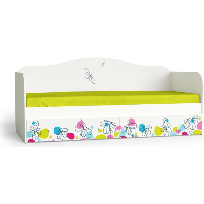 МК Мама Кровать для детской Цветы