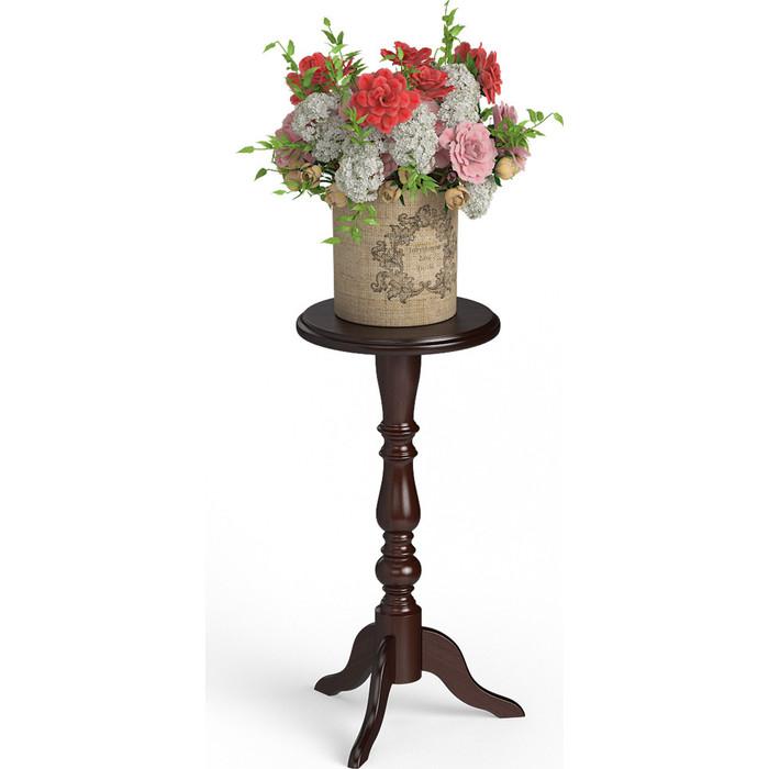 цена на Подставка под цветы Мебель-24 700 темный бук