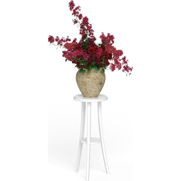 Подставка под цветы Мебель-24 № 1 белый