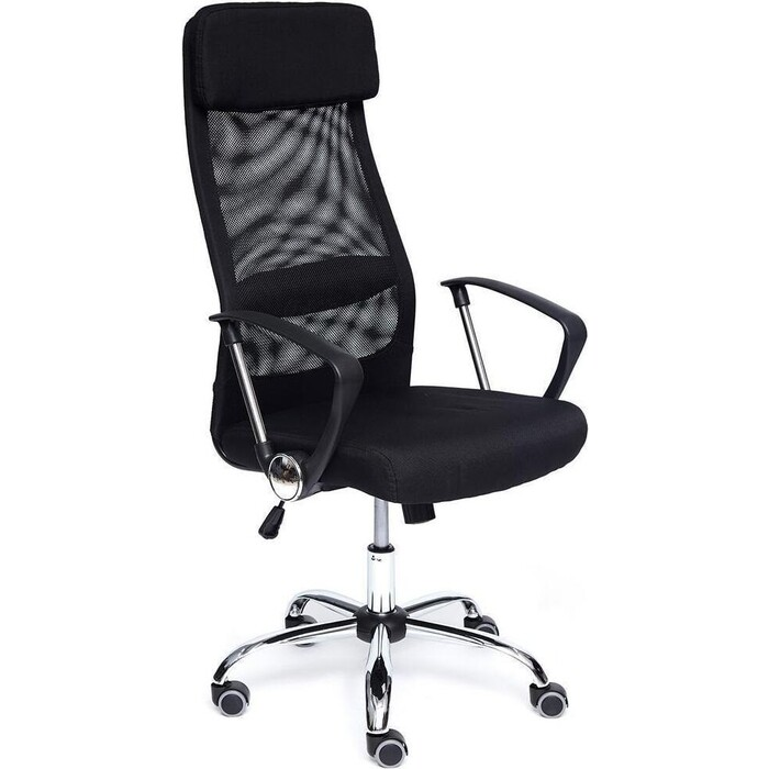 Кресло TetChair Profit ткань черный/черный