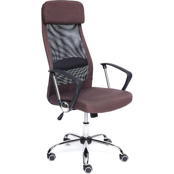 Кресло TetChair Profit ткань коричневый/черный шорты спортивные profit profit mp002xw19bry