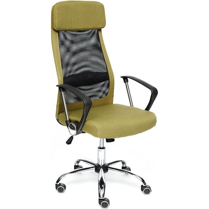 Кресло TetChair Profit ткань зеленый/черный