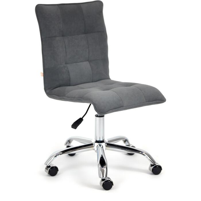 Кресло TetChair Zero флок серый 29