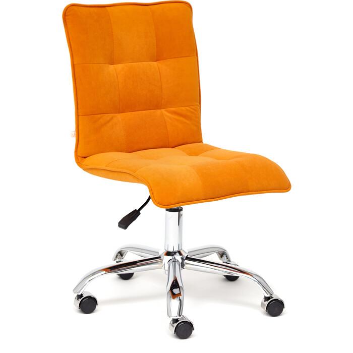 Кресло TetChair Zero флок оранжевый 18