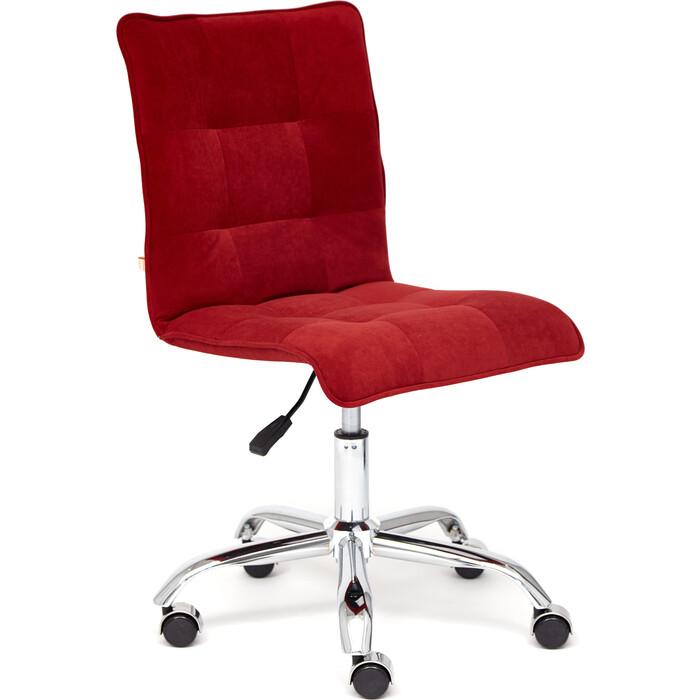 Кресло TetChair Zero флок бордовый 10