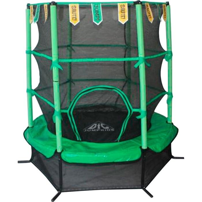 Батут DFC JUMP KIDS 55 зеленый, сетка (137см)