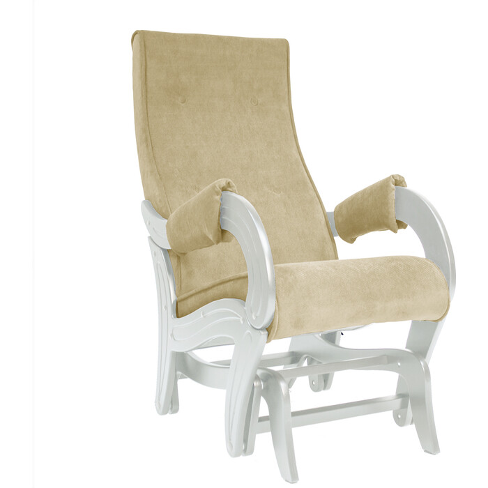 Кресло для кормления Milli Ice дуб шампань, ткань Verona vanilla
