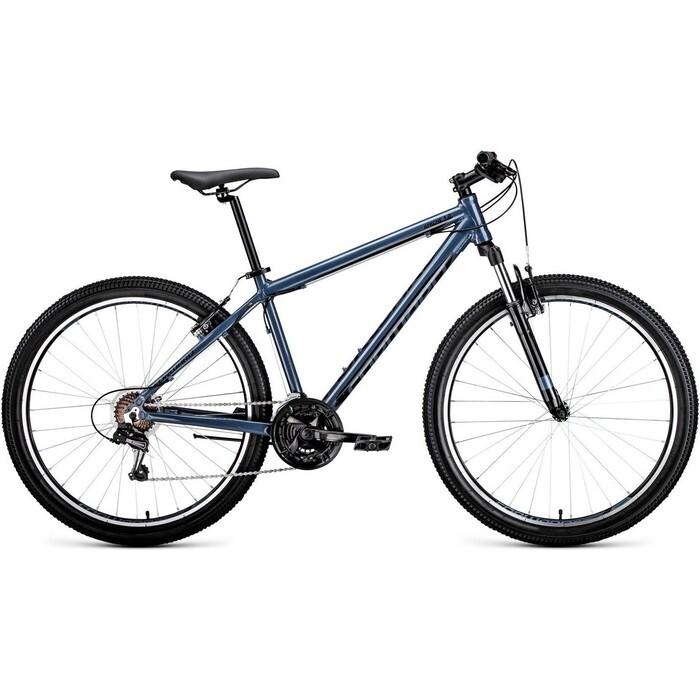 Велосипед Forward APACHE 27,5 1.0 (рост 19) 2020, серый/черный