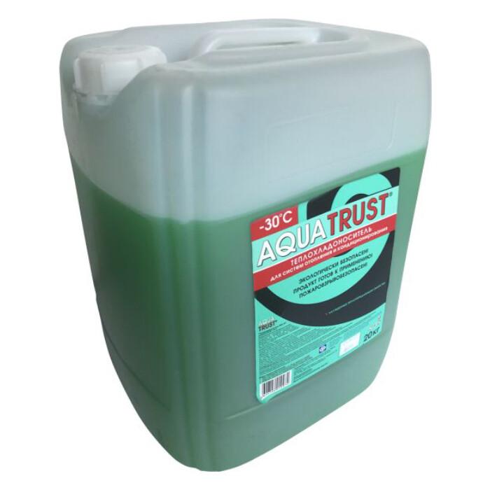 Теплоноситель Aquatrust ЭКО -30° С 20 кг