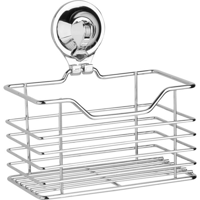 Полка-решетка Fora TRIUMF для ванной Малая на присоске полка прямая одноярусная ledeme l3728 на вакуумной присоске