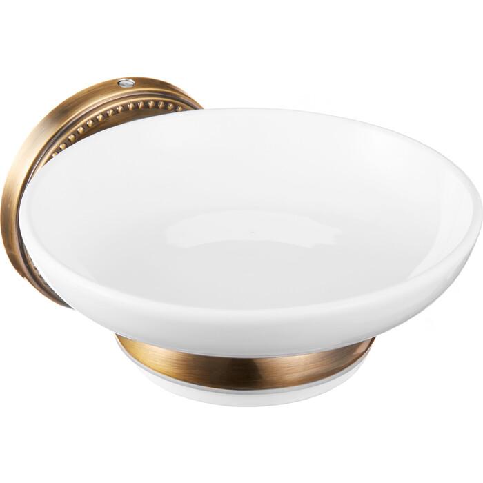 Мыльница Fora REAL керамическая для ванной