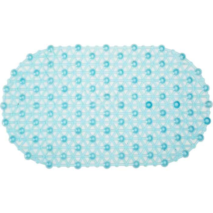 SPA-коврик Fora Паутинка 66*37см голубой