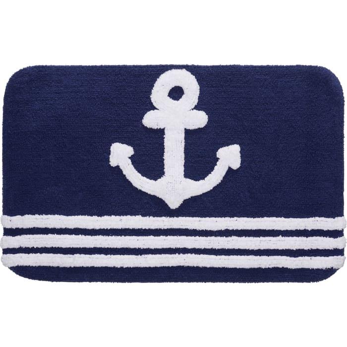 Коврик для ванной Fora Royal Navy хлопковый
