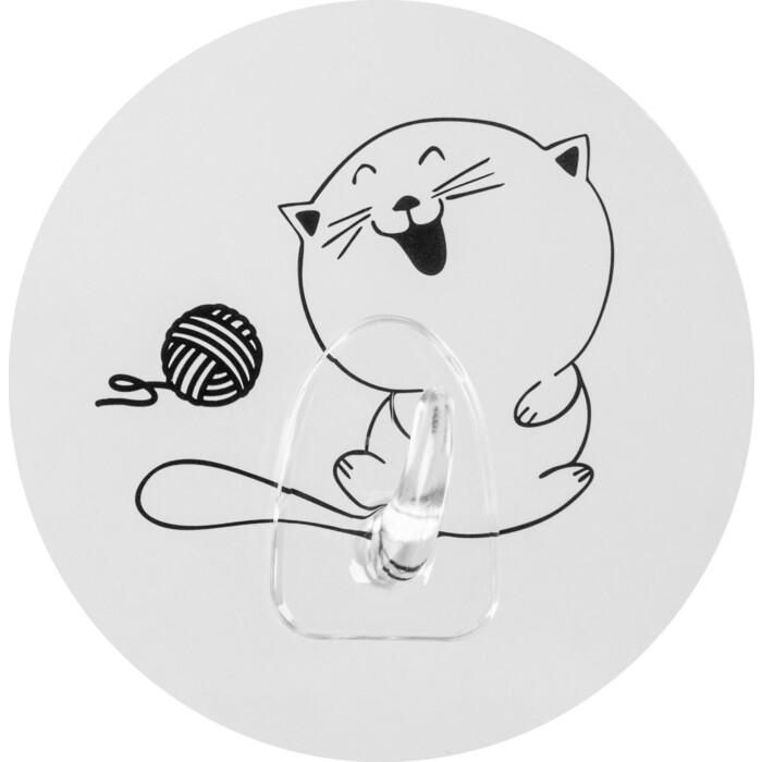 Крючок Fora Happy Cats на силиконе Клубок