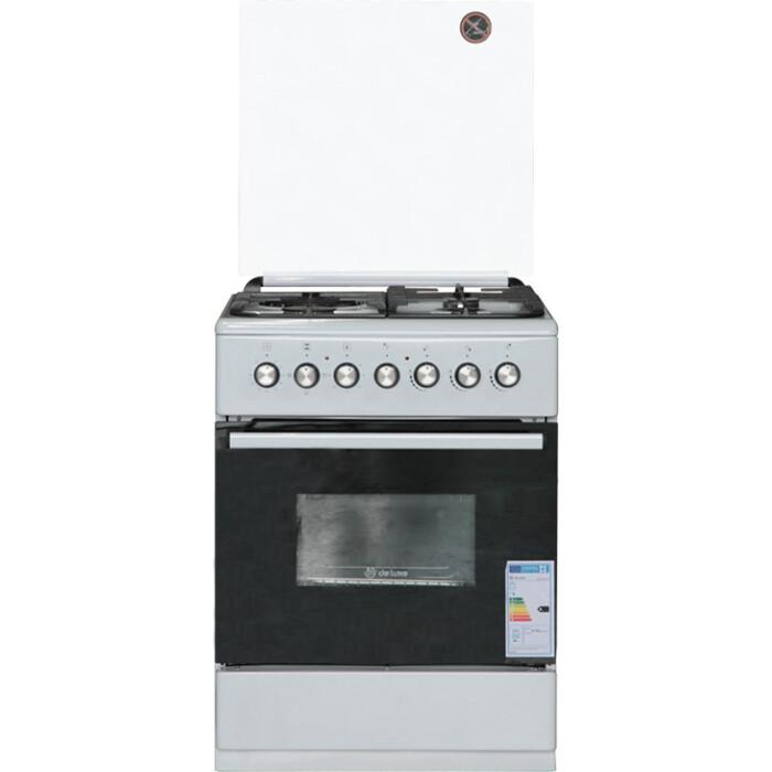 Комбинированная плита DeLuxe 606031.00гэ 001 белый