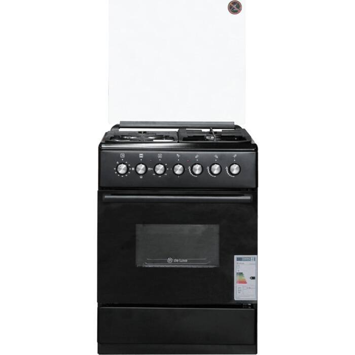 Комбинированная плита DeLuxe 606031.00гэ 003 черный