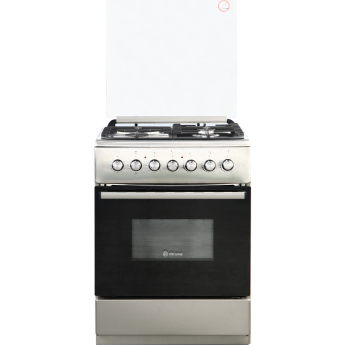 Комбинированная плита DeLuxe 606031.00гэ 005 нерж. Сталь