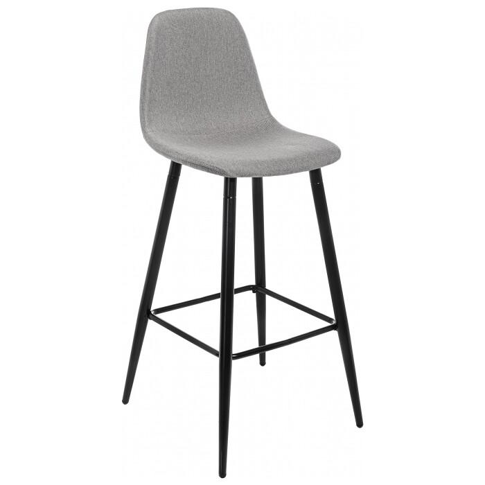 Барный стул Woodville Lada светло-серый