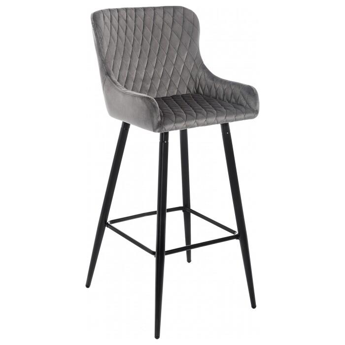 Барный стул Woodville Mint серый