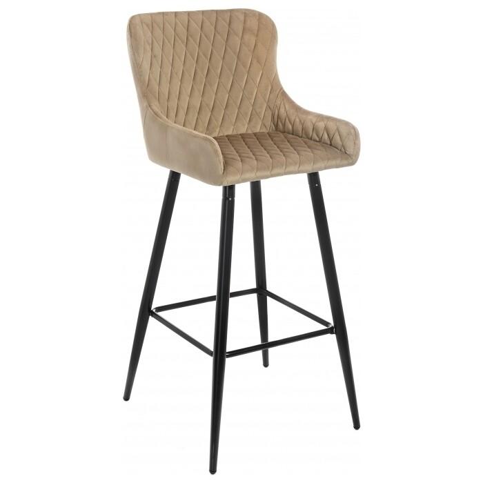 Барный стул Woodville Mint темно-бежевый