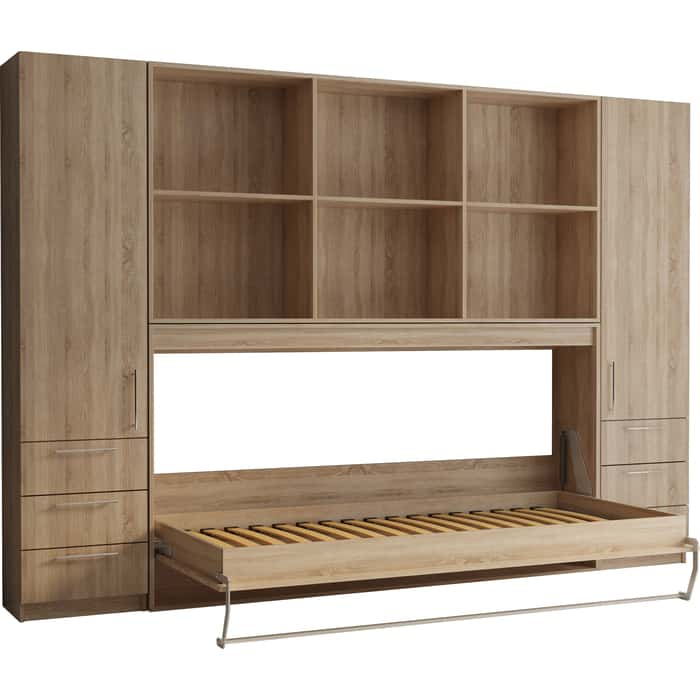 Комплект мебели Элимет Strada 90 дуб
